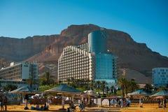 Centro turístico en el mar muerto, Israel fotos de archivo