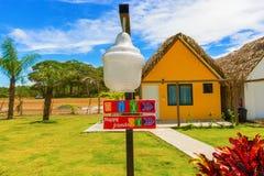 Centro turístico en el Océano Pacífico en Panamá Fotografía de archivo libre de regalías