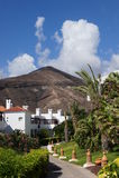 Centro turístico en Fuerteventura Imagen de archivo libre de regalías