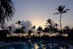 Centro turístico en la República Dominicana Imágenes de archivo libres de regalías