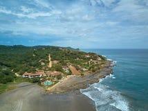 Centro turístico en las islas tropicales Imagenes de archivo
