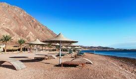 Centro turístico en las orillas del Mar Rojo Imagenes de archivo