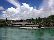 Centro turístico en Papeete Foto de archivo libre de regalías