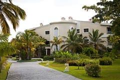 Centro turístico en Punta Cana Imagen de archivo libre de regalías