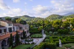 Centro turístico en Ratchaburi, Tailandia Foto de archivo libre de regalías