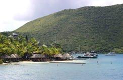 Centro turístico en una isla Fotografía de archivo