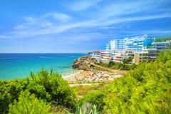 Centro turístico español del dorada de la costa imagenes de archivo