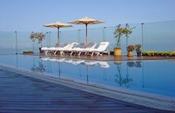 Centro turístico exclusivo y balneario en Lima, Perú foto de archivo libre de regalías
