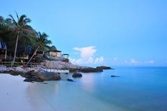 Centro turístico frente al mar Imagenes de archivo