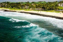 Centro turístico hawaiano Imágenes de archivo libres de regalías