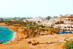 Centro turístico hermoso en el Mar Rojo de Egipto Fotografía de archivo