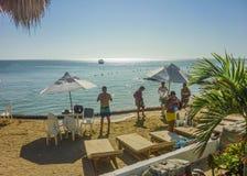 Centro turístico isleño tropical en Cartagena Fotografía de archivo libre de regalías