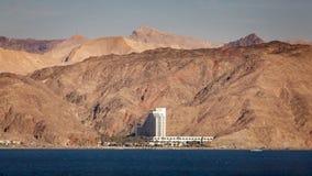 Centro turístico israelí en el Mar Rojo Imagen de archivo
