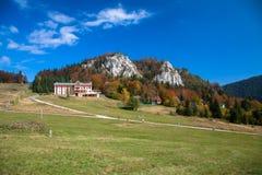 Centro turístico Malino Brdo, Eslovaquia Fotos de archivo libres de regalías