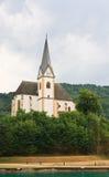 Centro turístico Maria Worth Iglesia de St Primus y Felician austria Foto de archivo