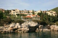 Centro turístico mediterráneo Foto de archivo libre de regalías