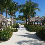 Centro turístico Montego Bay de Jamaica Fotos de archivo