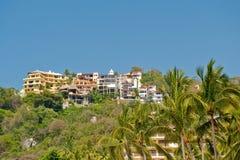 Centro turístico tropical Imágenes de archivo libres de regalías