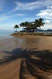 Centro turístico tropical fotos de archivo