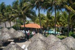 Centro turístico tropical Imagen de archivo