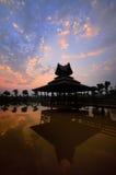 Centro turístico tropical adentro como fotos de archivo libres de regalías