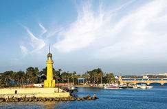 Centro turístico tropical de Alexandría imagen de archivo