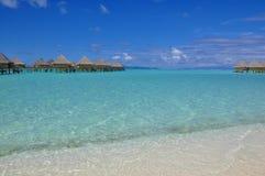 Centro turístico tropical de lujo Fotos de archivo libres de regalías