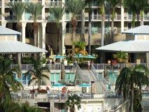 Centro turístico tropical de lujo Fotografía de archivo libre de regalías
