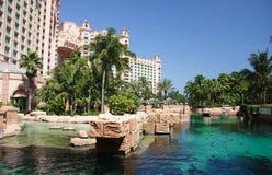 Centro turístico tropical del hotel imagenes de archivo
