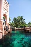 Centro turístico tropical del hotel foto de archivo