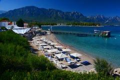 Centro turístico turístico Kemer, Turquía Fotos de archivo