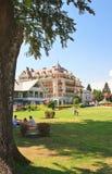 Centro turístico Velden Worthersee austria Fotografía de archivo