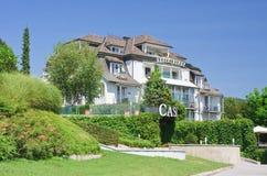 Centro turístico Velden Worthersee austria Imagen de archivo libre de regalías