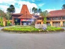 Centro turístico y balneario del asri de Laras Fotografía de archivo