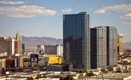 Centro turístico y casino de la aria en Las Vegas Foto de archivo libre de regalías
