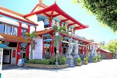 Centro turistico al tempio di Buddha sull'isola di Taiwan fotografia stock