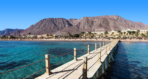 Centro turístico cerca del Mar Rojo Fotografía de archivo libre de regalías