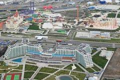 Centro turístico de Azimut del hotel y BALNEARIO y parque de Sochi Imagenes de archivo