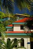 Centro turístico de isla de Gorda de la Virgen   Foto de archivo libre de regalías