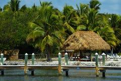 Centro turístico de isla tropical Fotografía de archivo libre de regalías