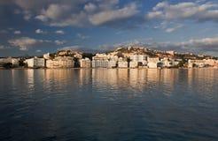 Centro turístico de Santa Ponsa en Majorca Foto de archivo libre de regalías