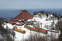 Centro turístico del cielo de Kartepe Foto de archivo