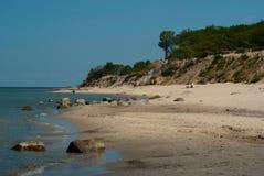 Centro turístico del mar Báltico de Pionersky Foto de archivo libre de regalías