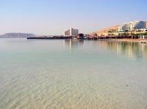 Centro turístico del mar muerto Imagen de archivo