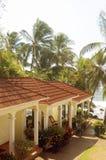 Centro turístico grande del hotel de Nicaragua de la isla de maíz por el mar del Caribe Fotografía de archivo libre de regalías