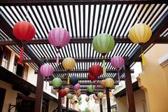 Centro turístico Hoi An Vietnam Fotos de archivo libres de regalías