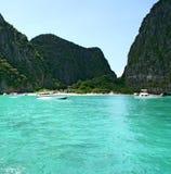Centro turístico isleño tropical Phi-Phi Province Krabi Thailand Foto de archivo libre de regalías
