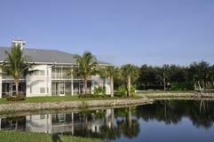 Centro turístico moderno de la Florida Foto de archivo libre de regalías