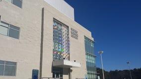 Centro unificato di scienza fotografia stock libera da diritti