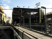 Centro uno en ruina Fotografía de archivo